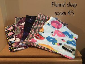 Flannel Sleep Sacks