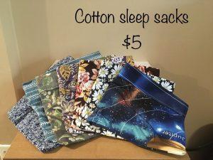 Cotton Sleep Sacks